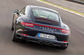 porsche 911 back 2016 porsche 911 carrera 4s review first drive motoring research