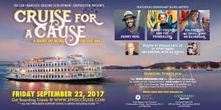 sfhdc cruise for a cause an evening of blues on the bay tickets