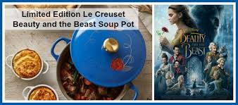 le creuset beauty and the beast limited edition le creuset beauty and the beast soup pot