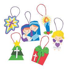 religious christmas ornament craft kit orientaltrading com