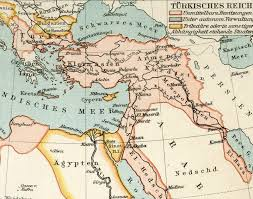 What Was The Ottoman Empire Map From Geographical Atlas 1890 The Turkish Ottoman Empire