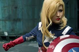 captain america female cosplay collection u2014 geektyrant