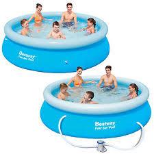 bestway fast set pool ebay