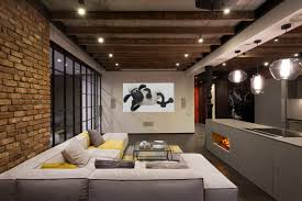 Loft Style Living Room Warehouse Style Loft With Stunning Visual Appeal