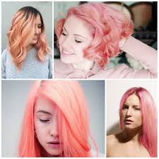 Color 2017 by Coral Pink Hair Color For 2017 New Hair Color Ideas U0026 Trends For