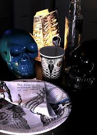 halloween cups and plates amazon com talking tables skeleton crew skeleton design paper
