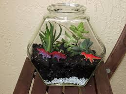 how to make a miniature dionsaur zen terrarium garden 8 inhabitots