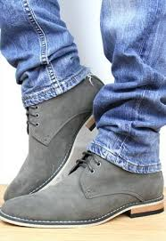 s grey boots uk s desert boots grey suede look ankle boots from shoesnbags