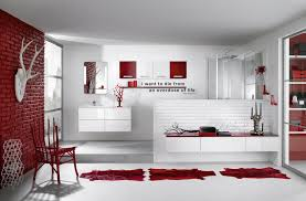 Red And Black Bathroom Ideas Colors Of 9 In The Series Bathroom Design Inspirations In Different