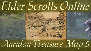 Eastmarch Ce Treasure Map Auridon Treasure Map 5 Elder Scrolls Online Youtube