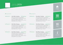 Horizontal Resume Horizontal Resume Creative Resume Template Professional Resume