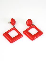 eighties earrings missing label eighties vintage ring 80s missing label womens