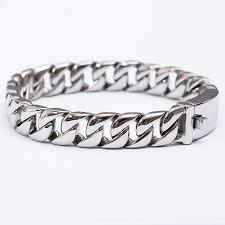 men steel bracelet images Chain stainless steel bracelet for men jpg