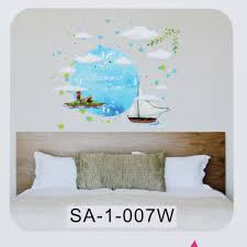 solar system wooden wall clock kids bedroom nursery wall bedroom