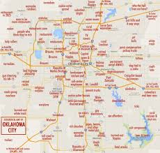 map of oklahoma judgemental map of seattle 16 maps of oklahoma with 700 x