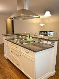 kitchen islands with cooktop kitchen island cooktops cool kitchen island designs with