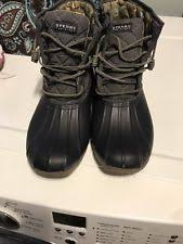 womens duck boots size 11 sperry top sider size 11 boots for ebay