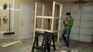 How To Build Garage Storage Shelves Plans by How To Build A Garage Cabinet In Under 2 Minutes Youtube