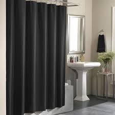 black bathroom shower curtains u2013 home design and decorating