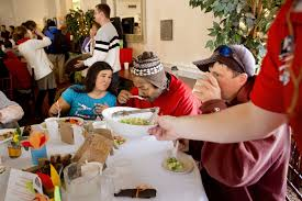 wayside food programs and its volunteers warm hearts with a