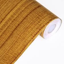 self adhesive wall paper amazon com retro wood grain self adhesive wallpaper home decor