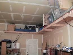how to build garage shelving diy shelving ideas with photos