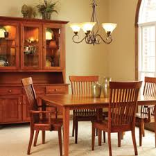 Shaker Style Dining Table And Chairs Valley Shaker Hutch Homestead Furniture