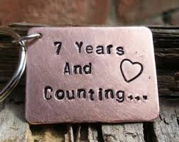 7th year wedding anniversary married 7 years etsy