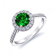green wedding rings coast engagement ring of the week platinum and