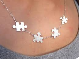 necklace for puzzle necklace for autism 50 sales go to autism society