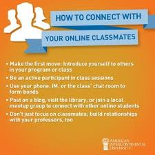 find college classmates how to connect with your classmates when learning online find