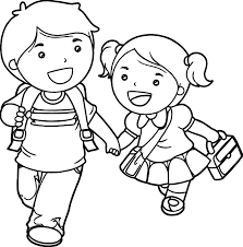 boy and lets go coloring page wecoloringpage
