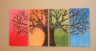 spring painting ideas simple canvas paintings ideas diy easy painting tierra este 62554