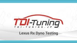 lexus rx turbo kit lexus rx dyno testing youtube