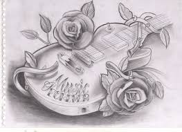 guitar tattoo design 2 by willem janssen artwanted com
