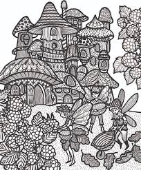 777 fantasy coloring pages adults images