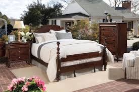 homecoming california king cannonball poster bed vintage maple