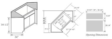 diagonal corner kitchen base cabinet pin on house plans styles etc