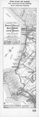 Map Of Venice Beach File Automobile Road Map From Santa Monica To San Pedro And Long