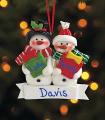 personalized snowman ornaments ltd commodities