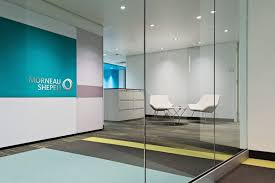 Glass Dividers Interior Design by Office Impressive Modern Office Lobby Decor Ideas Using Clear