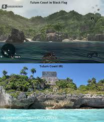 Blue And Black Flag The Amazing Real Maya World Of Assassin U0027s Creed Black Flag