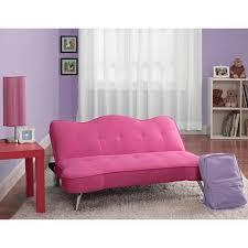 Tufted Sofa Sleeper by Dhp Rose Junior Sofa Lounger Racy Pink Hayneedle
