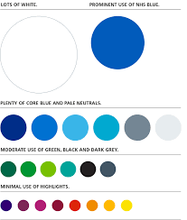 nhs identity guidelines colours
