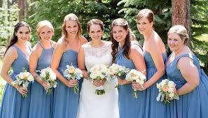 blue bridesmaid dresses 20 slate blue bridesmaid dresses worth obsessing chiffon