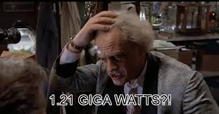 Doc Brown Meme - back to the future gigawatts gif find share on giphy