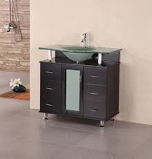 Bathroom Vanities 36 Inches Design Element Huntington Single 36 Inch Modern Bathroom Vanity