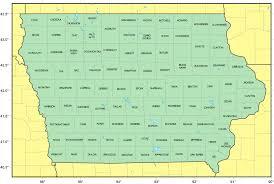 map of iowa counties map of iowa mapsof net