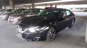 gray nissan maxima 2016 2016 nissan maxima sl complete feature walkthrough youtube