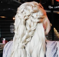 daenerys style hair game of thrones khaleesi daenerys targaryen hair tutorial lela